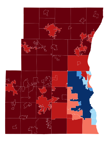 2012 presidential election in Milwaukee